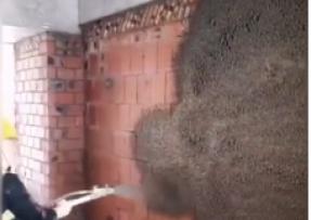 混凝土喷射加固视频