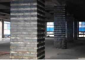 青岛粘钢加固如何使用粘钢胶处理厚钢板黏贴面?
